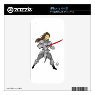 Iron Will Maiden Sylvia iPhone 4 Decal