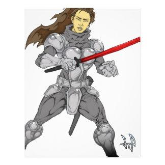 Iron Will Maiden Sylvia Letterhead