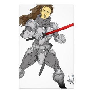 Iron Will Maiden Sylvia Stationery