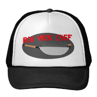 Iron Wok Chef Hats