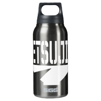 Iron Woman Canteen Black Insulated Water Bottle