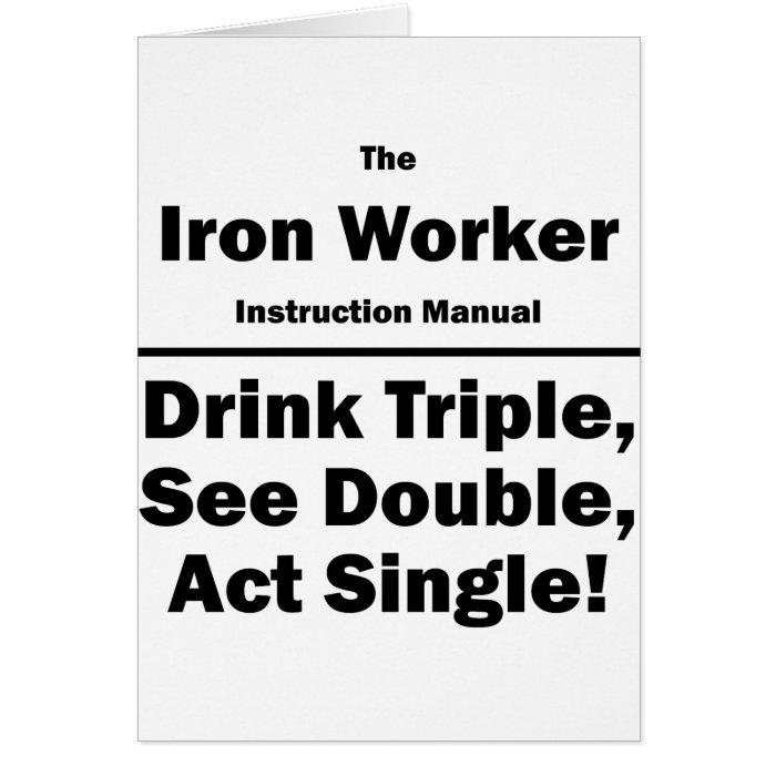 iron worker card