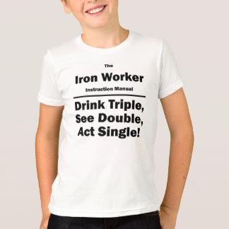 iron worker T-Shirt