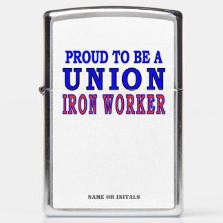 IRON WORKER ZIPPO LIGHTER