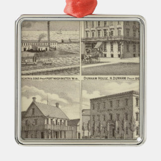 Iron Works, hotels & residences in Port Washington Christmas Ornaments