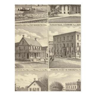 Iron Works, hotels & residences in Port Washington Postcard