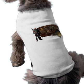 Ironbeard McCullough, cazadores jovenes agradables Camisetas Mascota