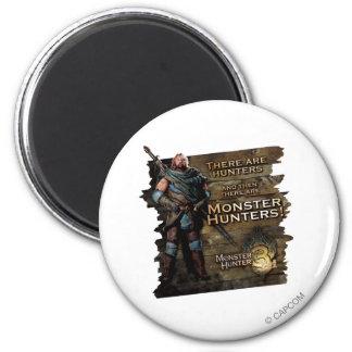Ironbeard McCullough, hay cazadores, y entonces Imán Redondo 5 Cm