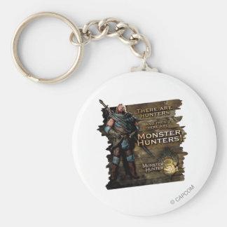 Ironbeard McCullough, hay cazadores, y entonces Llavero Redondo Tipo Pin