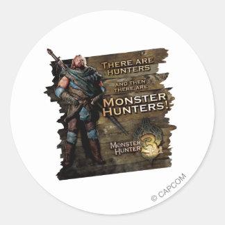 Ironbeard McCullough, hay cazadores, y entonces Pegatina Redonda