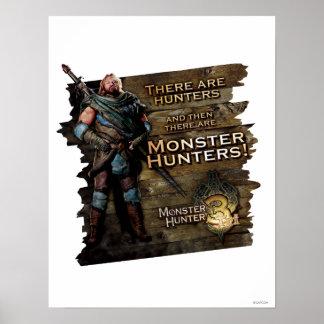 Ironbeard McCullough, hay cazadores, y entonces Póster