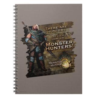Ironbeard McCullough, hay cazadores, y entonces Spiral Notebooks