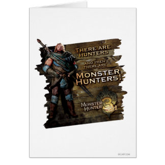 Ironbeard McCullough, hay cazadores, y entonces Tarjeta De Felicitación