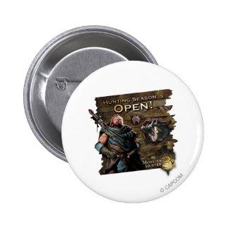 Ironbeard McCullough, Hunting season is open! Pins