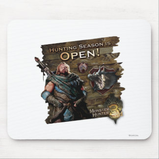 Ironbeard McCullough, Hunting season is open! Mouse Pad