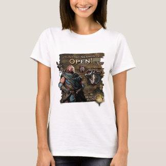 Ironbeard McCullough, Hunting season is open! T-Shirt