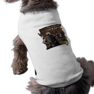 ¡Ironbeard McCullough, temporada de caza está abie Prenda Mascota