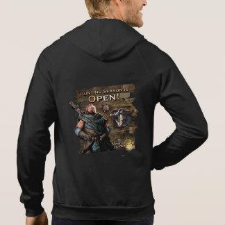 ¡Ironbeard McCullough, temporada de caza está Sudaderas