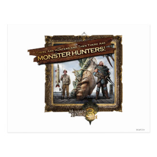 Ironbeard McCullough, There are Hunters, and then Postcard