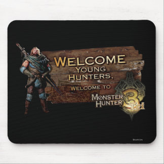 Ironbeard McCullough, Welcome young hunters to Mon Mouse Pad