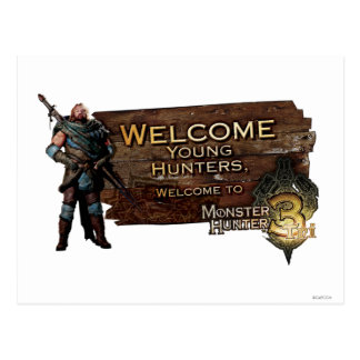 Ironbeard McCullough, Welcome young hunters to Mon Postcard