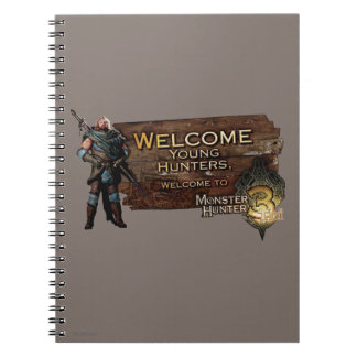 Ironbeard McCullough, Welcome young hunters to Mon Spiral Note Book