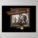 Ironbeard McCullough y pescador Poster