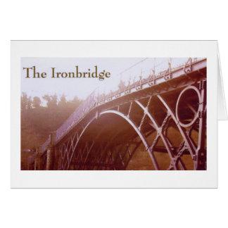 Ironbridge Shropshire Tarjeta De Felicitación