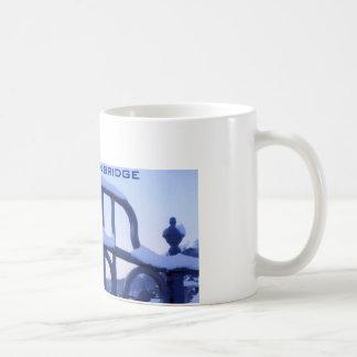 Ironbridge Shropshire Taza Básica Blanca