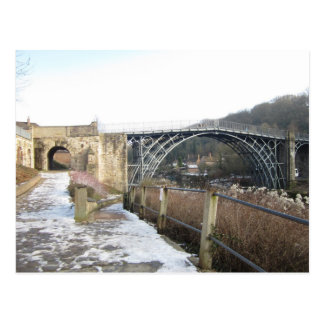 Ironbridge, Telford, Shropshire, UK Postcard