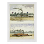 Ironclad Eastport by D.M.N. Stouffer 1864 Print