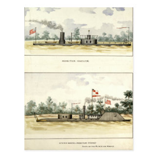 Ironclads Postcard