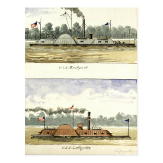 Ironclads Postcards