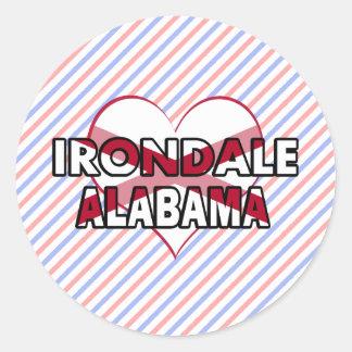 Irondale, Alabama Classic Round Sticker