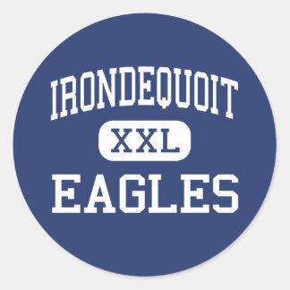 Irondequoit - Eagles - High - Rochester New York Classic Round Sticker