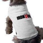 irondog playera sin mangas para perro