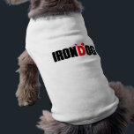 """irondog T-Shirt<br><div class=""""desc"""">For the athletic dog</div>"""