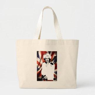 Irone Lady - Margaret Thatcher Jumbo Tote Bag