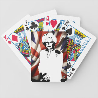 Irone Lady - Margaret Thatcher Bicycle Playing Cards