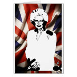 Irone Lady - Margaret Thatcher Greeting Card