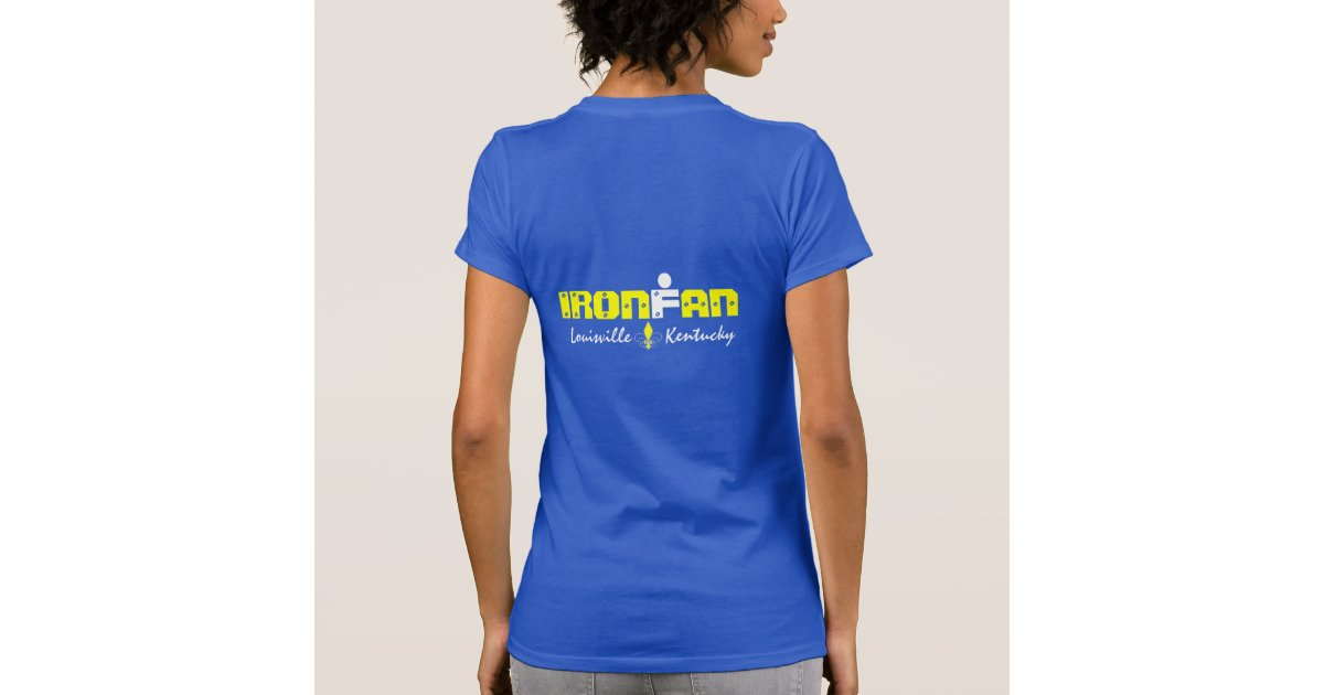Ironfan t shirt louisville kentucky zazzle for Louisville t shirt printing