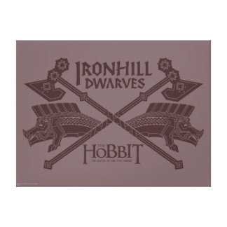 Ironhill Dwarves Movie Icon Canvas Print