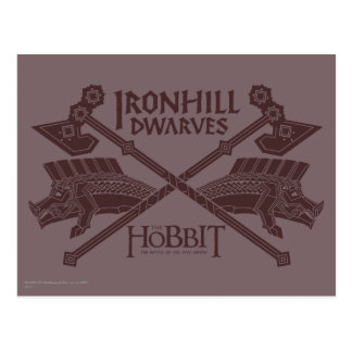 Ironhill Dwarves Movie Icon Post Card
