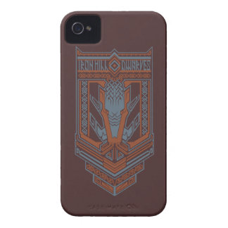 Ironhill Dwarves Shield Icon iPhone 4 Cases