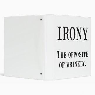 """Ironía Carpeta 1"""""""