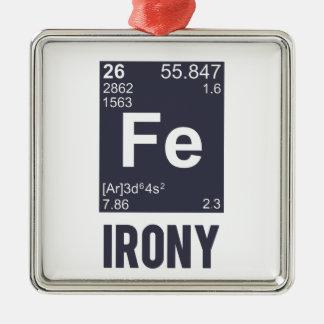 Ironía irónica del FE del elemento químico Ornamentos De Reyes