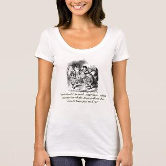 Ironic Alice (In Wonderland) Rehab Scoop Neck T T-Shirt