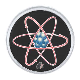 Ironic Atomic Lapel Pin