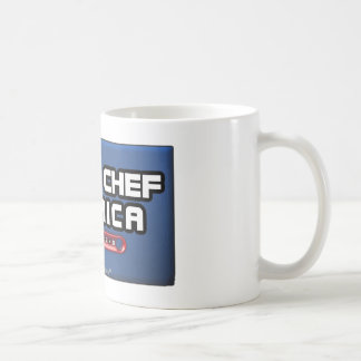 IRONIC CHEF AMERICA - FUNNY COOKING MUG
