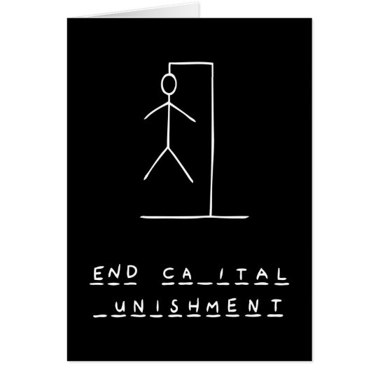 Ironic Hangman Card